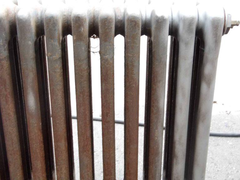 Luchtgommen oude radiatoren
